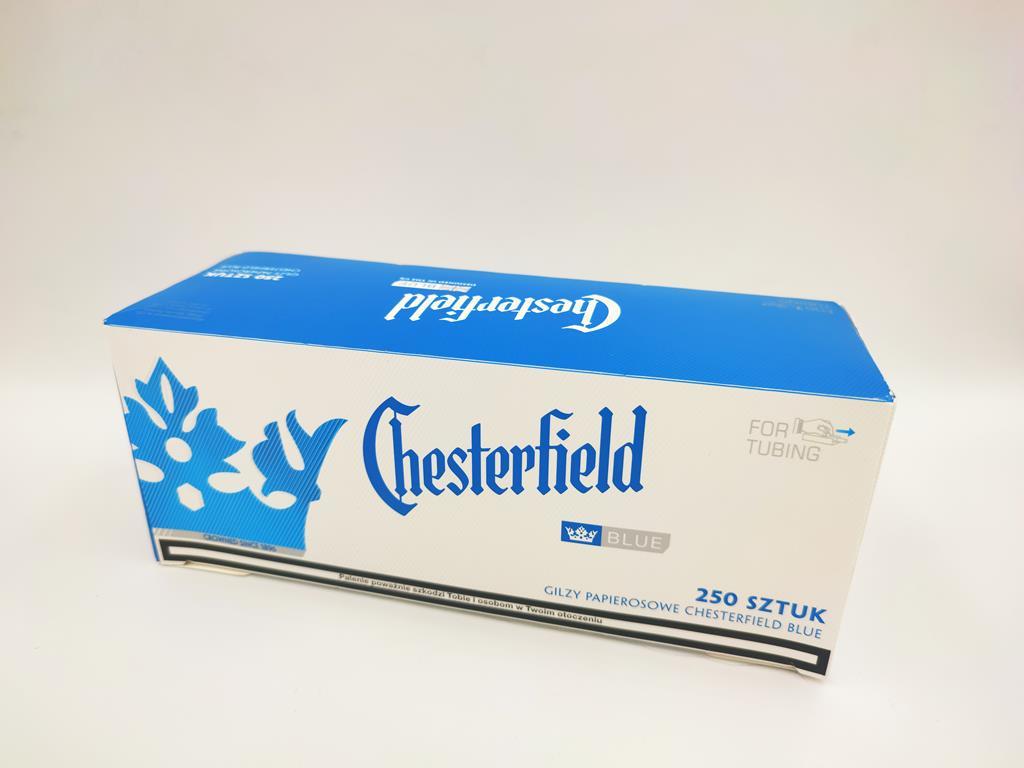 gilzy CHESTERFILED blue niebieskie 250 7,50zł