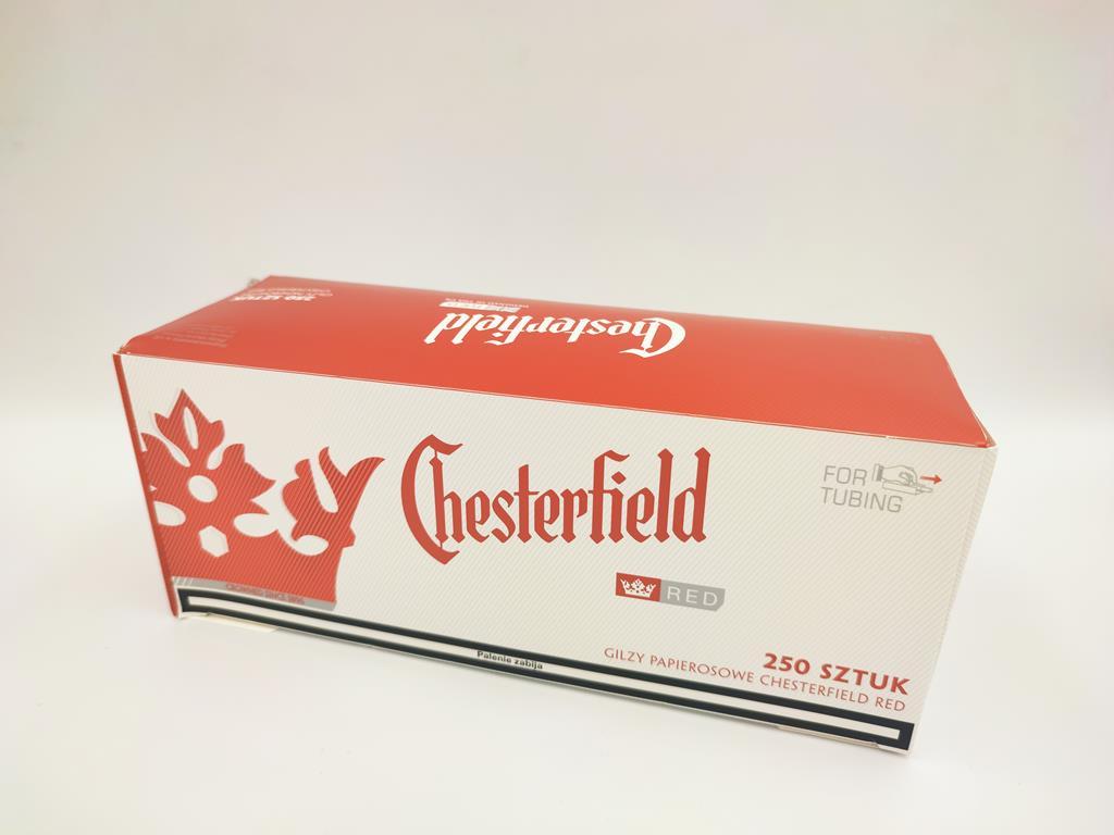 gilzy CHESTERFILED red czerwone 250 7,50zł