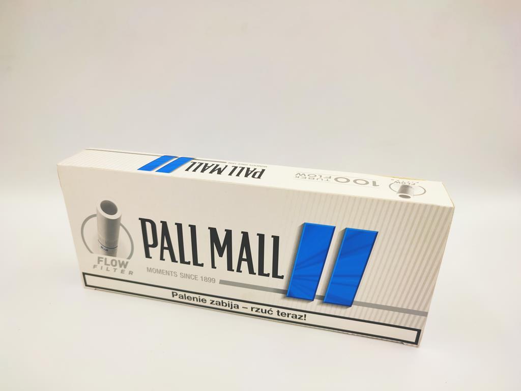 gilzy PALL MALL flow filter blue niebieskie 100 6zł