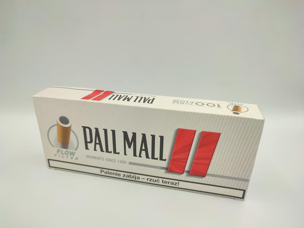 gilzy PALL MALL flow filter czerwone 100 6zł