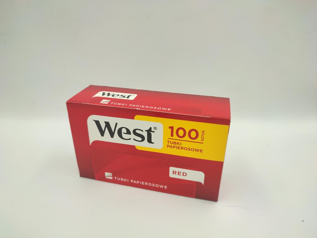 gilzy WEST red czerwone 100 3,90zł