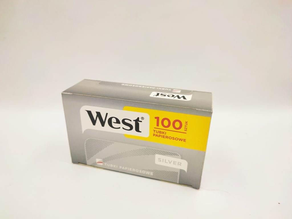 gilzy WEST silver srebrne light 100