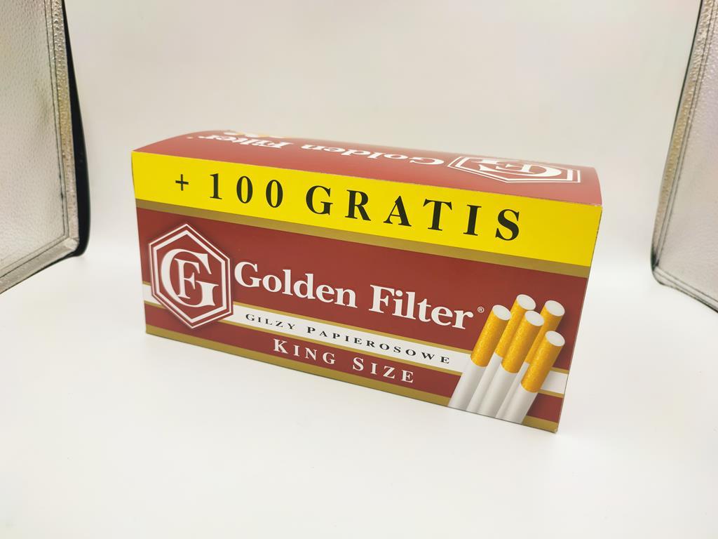 gilzy GOLDEN FILTER king size 1100 17,90zł