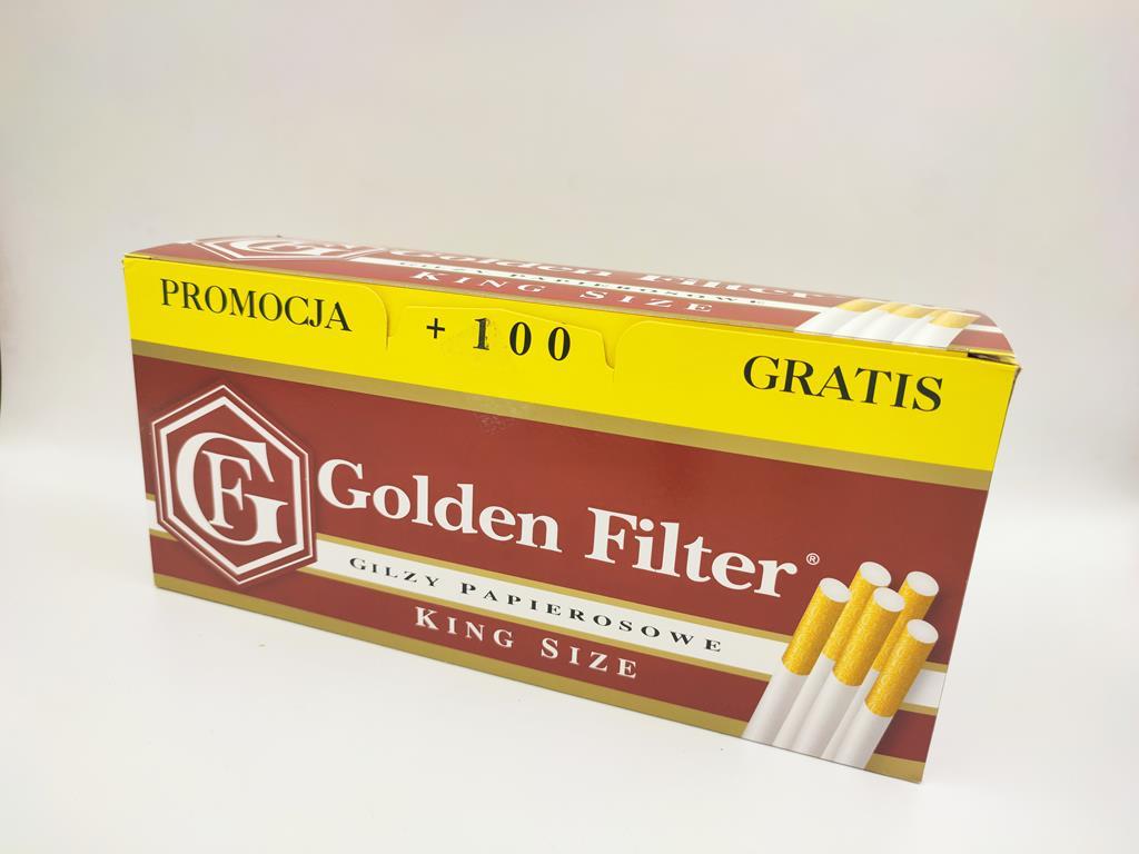 gilzy GOLDEN FILTER king size 550 9,50zł