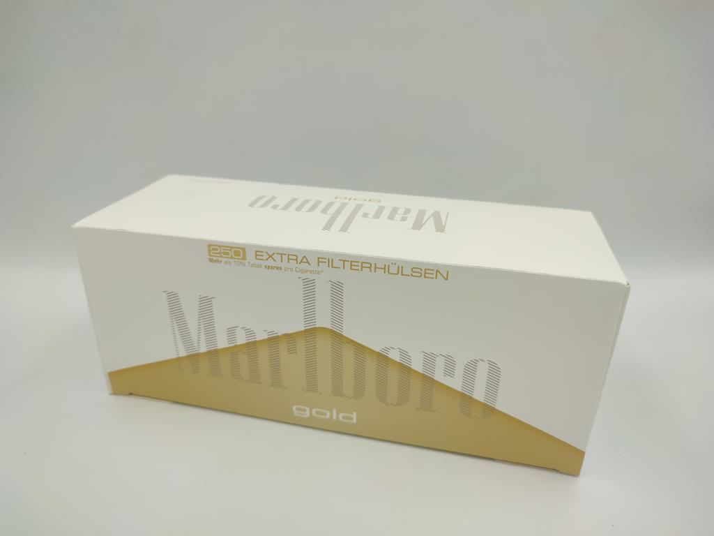 gilzy MARLBORO gold light 250 long filter 12,50zł