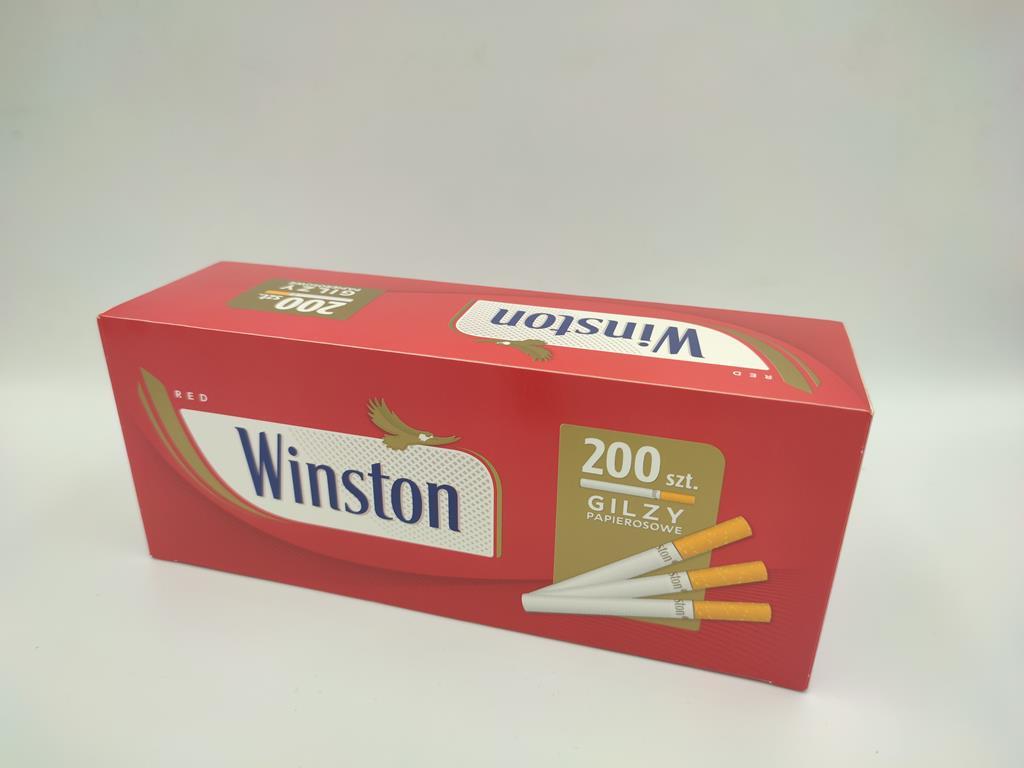 gilzy WINSTON red czerwone 200 5,50zł